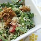 Healthy Summer Quinoa with Strawberries, Walnuts + Arugula