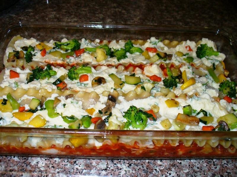 Vegetable Lasagna Recipe by Lynne - CookEatShare