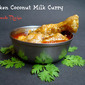 Chicken Coconut Milk Curry - No Tomato Recipe