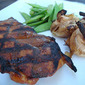 Bourbon Smoked Paprika Pork Chops