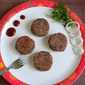 Rajma Tikkis / Red Kidney Beans Patties