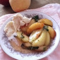 RECIPE: Macerated Honey and Mint White Peaches