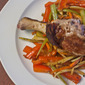 Crispy Duck with Orange-Fennel Slaw