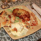 Baked Chicken Cordon Bleu with Cheese Sauce or Chicken Parmesan Recipe