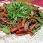 Ginger and Teriyaki Beef Stir Fry