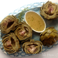 Artichokes Vinaigrette from Every Day With Rachael Ray Magazine, September 2012
