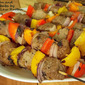 Beef Sirloin and Bell Pepper Kebabs