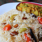 Brinji Rice recipe with Kurma