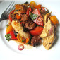 Last Tomato Recipe: Roasted Chicken & Panzanella Salad