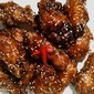 Korean Extra Crispy Fried Chicken w Sweet Spicy Glaze