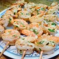 Flavorful Grilled Shrimp
