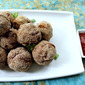 Indian Spiced Chicken Meatballs ~Its Tailgating time!! #SundaySupper
