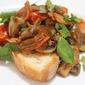 Bacon Mushroom and Tomato Medley