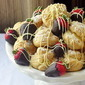 Frozen White Chocolate Cream Puffs - Our 900th Recipe!!