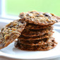 Dark Chocolate and Pistachio Oatmeal Cookies (Gluten-free!)