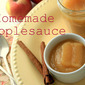 "Honey-Cinnamon Applesauce and ""Cutting Out The Crap"""