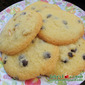 Chocolate Chips Cookies with Almond