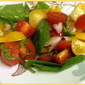 Yellow Pear and Cherry Tomato Salad - Power Food