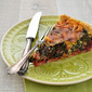 Mangoldquiche ~ Quiche with Swiss Chard