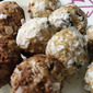 Peanut Butter Oatmeal Cookie Balls