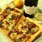 Pear, Gorgonzola and Caramelized Onion Tart