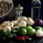 Mushroom, Jalapeno, and Cilantro Salsa