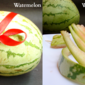 How to chop Watermelon Rinds