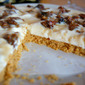 Maple and Pecan cheescake
