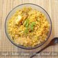 Simple Chicken Biryani - Using Normal Cooking Rice