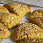 Pumpkin Scones with Do-it-Yourself Cinnamon Chips