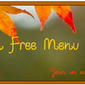 Menu Plan Monday ~ Week of October 1st, 2012