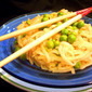 Spicy Rice Noodles and Peas: Desperate Mother Pulls Off Dinner in Under 20 Minutes