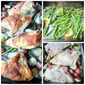 Easy One Pan Dinner: Chicken on Lemony Green Beans w/ Potatoes & Giveaway Winner!