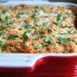 Butternut Squash and Leek Gratin