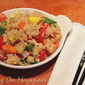 Vegetable Fried Rice from All You's Delicious On A Dime Cookbook