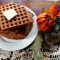 Gingerbread Waffles for Autumn Brunch