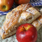 Apple-Cinnamon Sweet Bread with Dried Cherries . . .