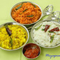 Lemon Rice, Tomato Rice and Curd Rice