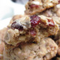 Cranberry, Chocolate and Walnut Oatmeal Cookies...12 Weeks of Christmas Treats