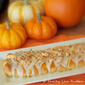Pumpkin Danish Braid with Maple Drizzle and Walnut Topping (6 WW Points Plus)