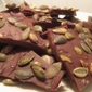 Chocolate Covered Toffee with Pumpkin Seeds & Sea Salt