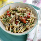 Pasta with Porcini Mushrooms & Datterini Tomatoes with Truffle Oil~Guest Post from Apron and Sneakers