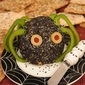 Halloween Spider Cheese Ball Recipe