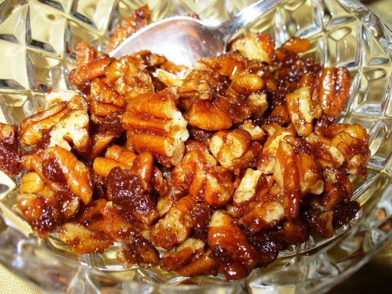 Easy Candied Pecans Recipe by Lynne - CookEatShare