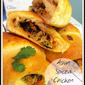 Asian Spiced Chicken Crescents