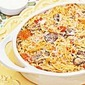 Mushroom, Tomato & Pesto Spaghetti Casserole using Heartland #glutenfree pasta