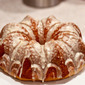 #BundtaMonth: Glazed Orange Pumpkin Bundt Cake