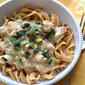 Slow-Cooked Turkey Stroganoff
