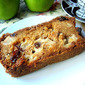 Chunky Apple Raisin Bread