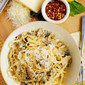 Linguini and Clam Sauce Recipe + White Jacket Required Book Giveaway!